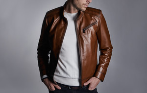Sleek Leather Jackets