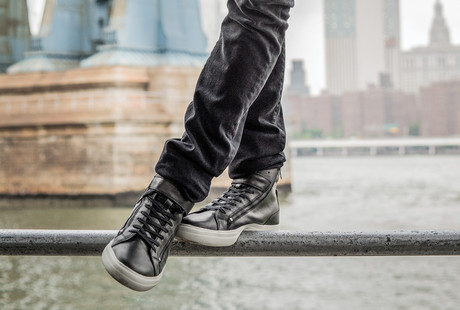 Luxe Leather Boots + Sneakers