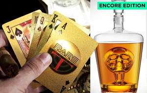 Ft. Gold Plated Playing Cards
