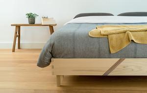 Efficiently Minimalist Bed Frame