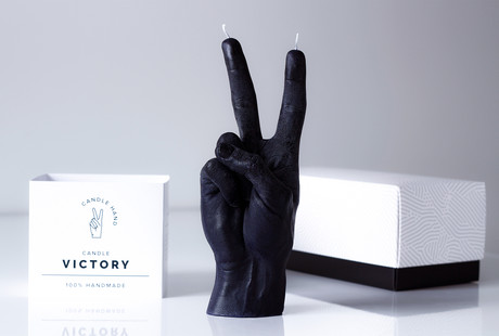 Expressive Hand Gesture Candles