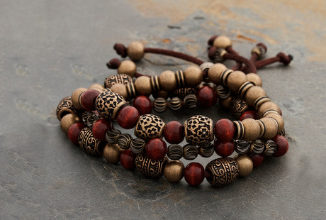 Rugged Beaded Bracelets