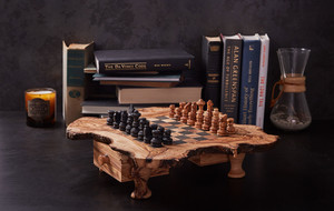 The Luxury Wooden Chess Set