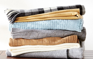 Luxe Cashmere + Wool Scarves