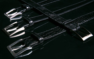Sleek Leather Belts
