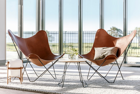 Luxurious, Elevated Butterfly Chairs
