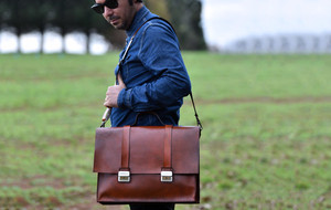 Rugged Leather Bags