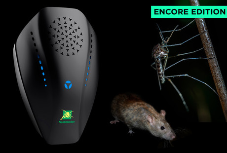 Ultrasonic Pest Repelling Device