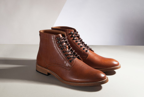 Rugged Boots + Handsome Dress Shoes