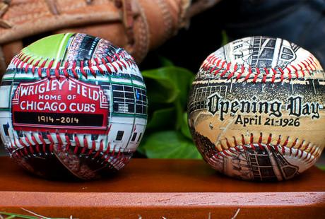 Stadium Printed Baseballs