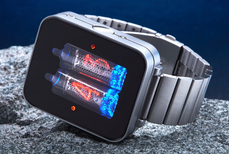 Retro-Futuristic Nixie Tube Watch