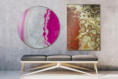 Gorgeous Glass + Mirror Art Prints