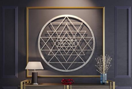 Laser Cut 3D Wall Art