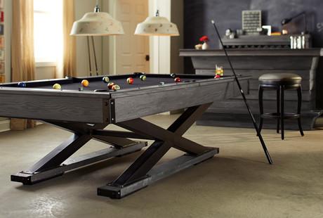Modern Pool Tables + Shuffleboards
