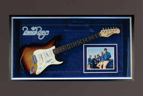 Signed Guitars From Music Legends