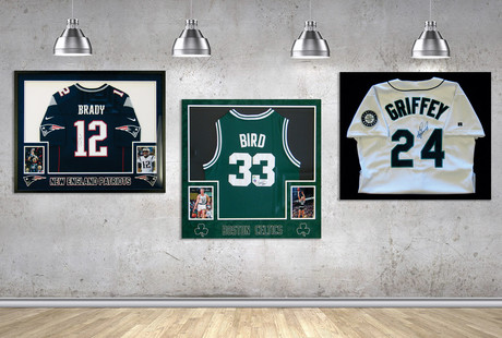 Signed Collectibles From Sports Icons