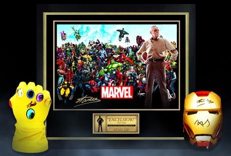 Marvel Memorabilia Ft. Stan Lee