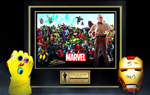 Marvel Memorabilia Ft. Stan Lee