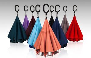 Elegant Reverse Closing Umbrellas