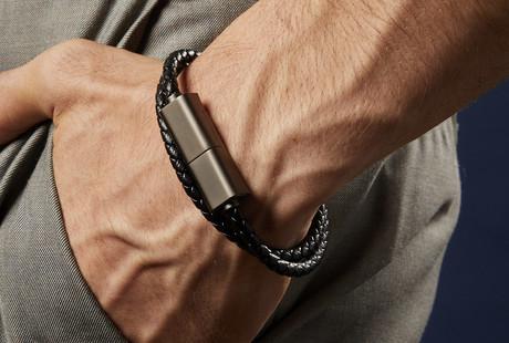 Leather Charging Bracelets