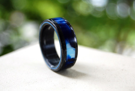 Exotic Handcrafted Rings