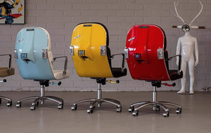 Vintage Scooter Chairs
