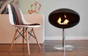 Sculptural Indoor Fireplaces
