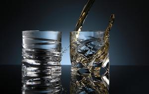 Rotating Liquor Glasses