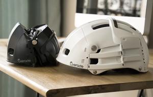 Sleek Foldable Cycling Helmets