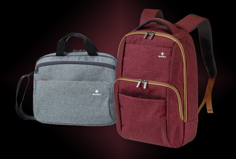 Swiss Crafted Bags + Portfolios