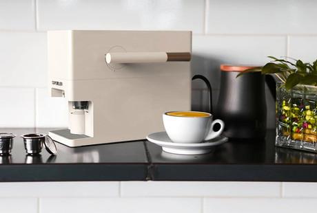 Mess-Free Coffee Capsule Maker