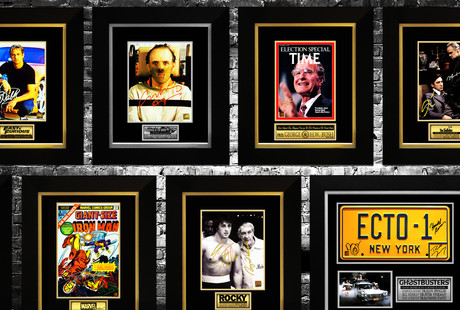 Signed Memorabilia: Box Office Hits