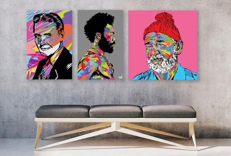 Psychedelic Pop Art Prints