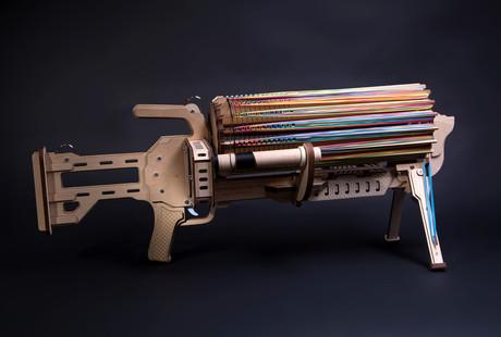 The Rubber Band Machine Gun
