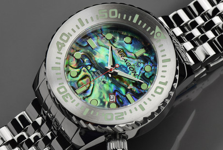 Dazzling Abalone Watches