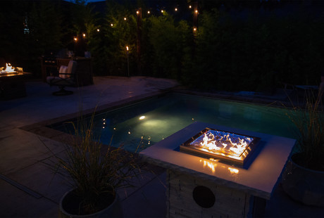 The Bluetooth Dancing Fire Pit