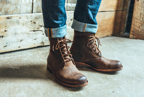 Artisan Leather Boots + Shoes