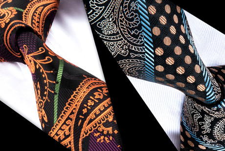 Bold Contemporary Ties