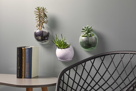 Window Mounted Vertical Planters