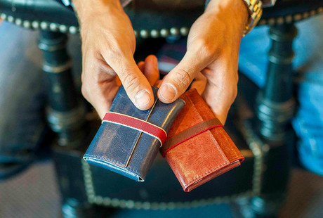 Handmade Spanish Leather Wallets