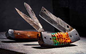 Damascus Hunting & Chef Knives