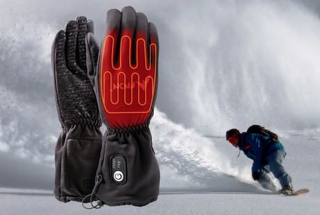 Heated Gloves, Jackets, + Vests