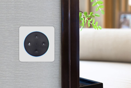 The Amazon Echo In-Wall Amplifier