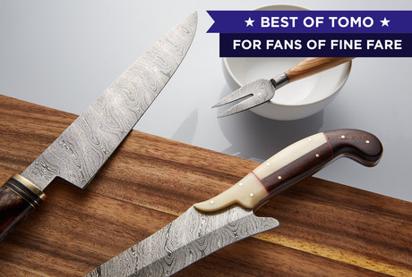 Damascus Steak & Kitchen Knives