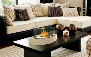 Fireside Ambiance, Indoors Or Out