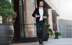 Contemporary Button-Ups + Blazers