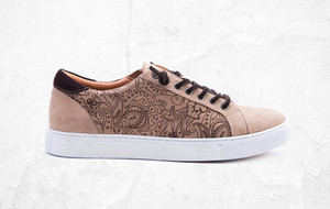 Stylish Leather Sneakers