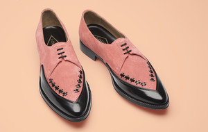 Fashionable Parisian Footwear