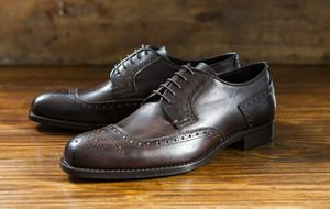 Refined Leather Footwear