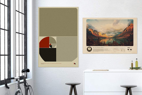 Prints Inspired by Science